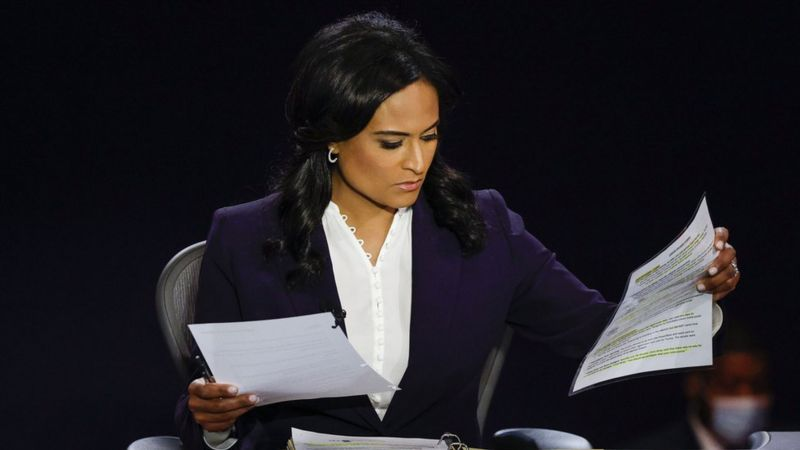 Kristen Welker: Presidential debate moderator was 'clear winner' on social media